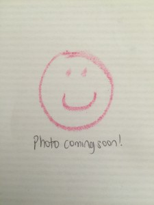 A photograph will be coming shortly!