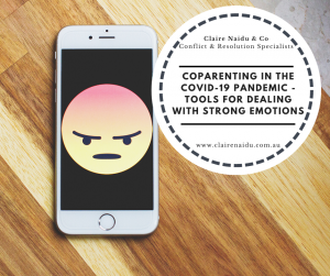 Coparenting during covid-19 pandemic tool for dealing with strong emotions